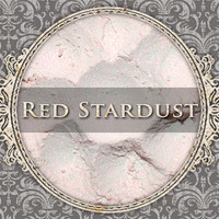RED STARDUST Mineral Eyeshadow: 5g Sifter Jar, Iridescent Pink-Red, Vegan Cosmetics, Shimmer Eyeshadow