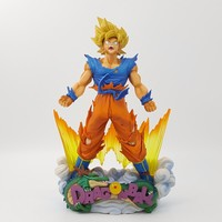 Dragon Ball Son Goku Super Saiyan Power Up Action Figure