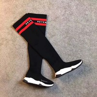 Balenciaga Women Fashion Long Boots Shoes