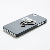 Metal Elephant iPhone Case in Black - Urban Outfitters