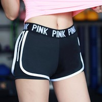 Women Sexy Yoga Shorts Compression black Running Short Gym Sport Shorts Athletic Fitness Leggings Workout clothes