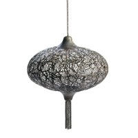 Metal Design Hanging Candle Lantern