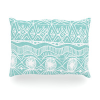 "Catherine Holcombe ""Beach Blanket Bingo"" Oblong Pillow"