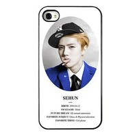 KPOP EXO MEMBER XOXO IPHONE4 CASE (SE HUN)
