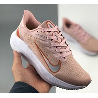 Nike Zoom Winflo 7 high-frequency breathable knitted jacquard running shoes