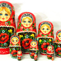 Russian doll matryoshka Khokhloma songs kod287