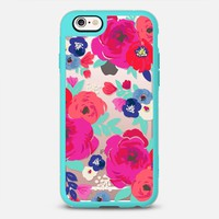 Sweet Pea Floral Clear iPhone 6s case by Crystal Walen | Casetify