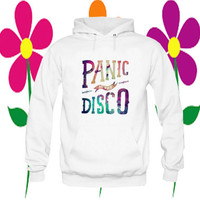 panic at the disco hoodie white on Size : S-3Xl, adorabel and heppy feed in new year.