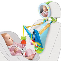 All in One Baby Car Toy, Keeps Both Baby and Parent Calm and Happy While in Car