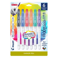 Pilot® FriXion® Erasable Marker Pens, 6ct - Multicolor