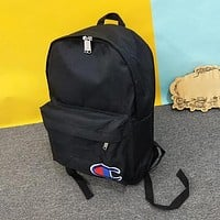 Champion Woman Men Fashion Backpack Bookbag