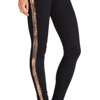 Paige Denim Verdugo Ultra Skinny in Black & Copper Ray