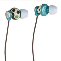 Manhattan Signature Collection Cellular In-Ear Full-Stereo Headphones - Teal/Tan/Brown (178327)