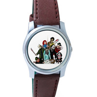 Pop Art Illustration Characters Wrist Watch