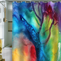DENY Designs Home Accessories | Madart Inc. The Beauty Of Color 3 Shower Curtain Sale Item