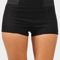 Day And Night Mini Short - Black
