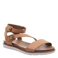 As If Buckle Sandal : Tan