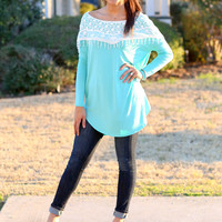 This is Paradise Tunic - Mint
