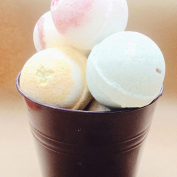 IceCream Explosion Bath Bomb Gift Set/6 for 28/Soapie Shoppe Haywood Mall