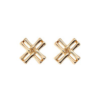 Alloy Accessory Strong Character Hollow Out Earrings [10857803983]