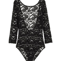 Lace Bodysuit - from H&M