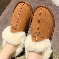 New hot sale flat bottom and velvet warm sleeve snow boots shoes