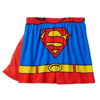 Superman Boxers with Cape
