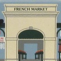 French Market Stands, New Orleans, LA