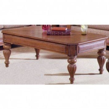 South Sea Rattan 12000 Lancaster Coffee Table - 12044 - Accent Tables - Decor