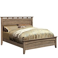 Perdomo Transitional Style Weathered Oak California King Bed