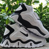 Nike Air Barrage Mid Hot Selling Platform Couple Sneakers Shoes White