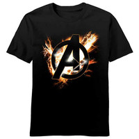 Avengers Electric A Youth T-Shirt