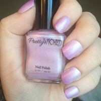 Color Changing White to Purple Nail Polish, Light Sensitive, Photochromic, Purple Nail Polish, White Nail Polish, UV Nail Polish