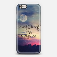 Anything Could Happen iPhone 6 case by Monika Strigel | Casetify