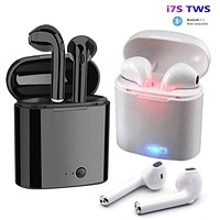 i7s TWS Wireless Earpiece  Bluetooth 5.0 Earphones sport Earbuds Headset With Mic For smart Pho...