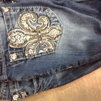 Previously Loved Miss me jeans 25 boot cut