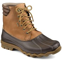 Men's Avenue Duck Boot in Tan and Brown by Sperry