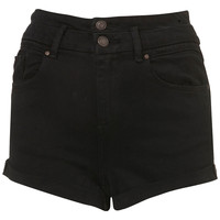 MOTO Black High Waisted Shorts - Back In Stock - New In - Topshop