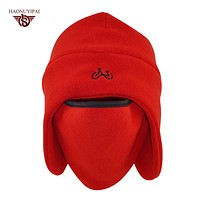 Winter Warm Balaclava F Women Men Head Face Ears Thickness Fleece Skullies Beanies Windproof Hats Ski Outdoor Caps  HE002