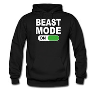 BEAST-MODE-ON-WHITE_hoodie sweatshirt tshirt