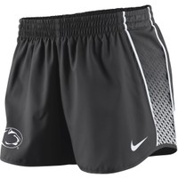 Nike Women's Penn State Nittany Lions Charcoal Stealth Pacer Performance Shorts - Dick's Sporting Goods