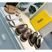Fendi Half slippers