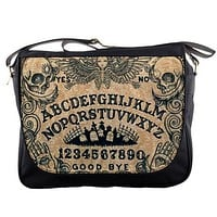 Ouija Angel messenger bag