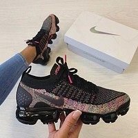 "Nike Air Vapormax Flyknit 2.0 ""Multi-Color"" Sneaker Shoes"