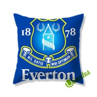 Everton Logo Square Pillow Cover