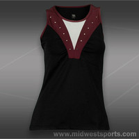 Tail Divine Wine Scoop Neck Tank