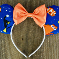 Finding Dory Inspired Mickey Ears, Pixars Finding Dory Ears, Finding Nemo Ears, Mickey Mouse Ears