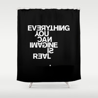 PABLO PICASSO Shower Curtain by THE USUAL DESIGNERS