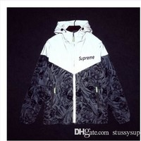 New STYLE LOVER HOODIES FOR MEN AND WOMEN AUTUMN WINTER JACKET windbreaker CLOTHES REFLECTIVE ZIPPER HOODIES SIZE S-2XL