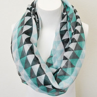 Geometric Journey Infinity Scarf